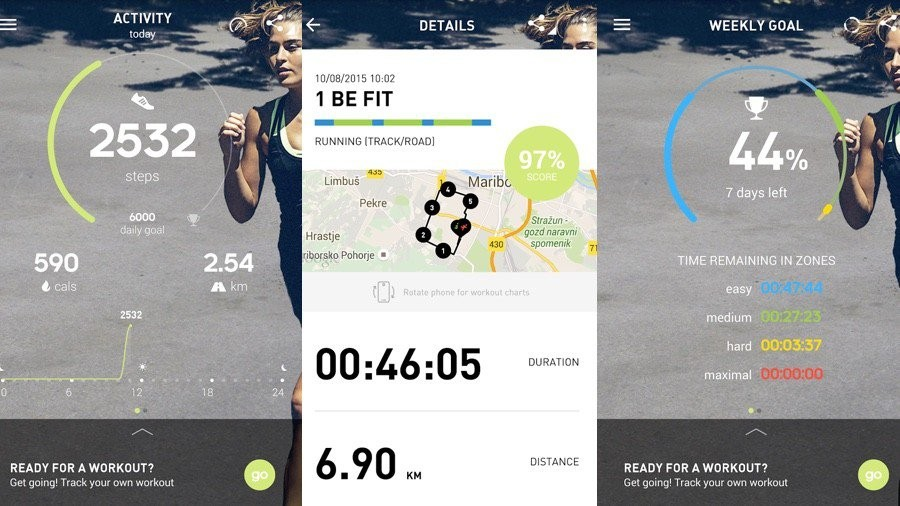 Adidas Launches A New And Separate App For Its Train  U0026 Run