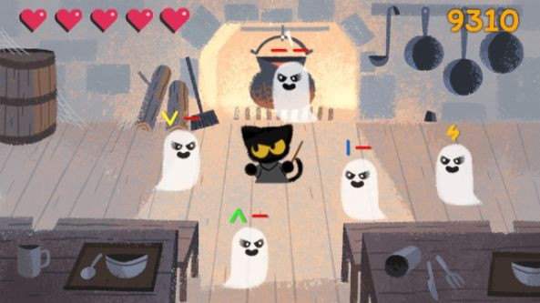 Google Has A Spooky Yet Fun Game For Halloween 2016 Doodle Mobilescout Com Mobilescout Com