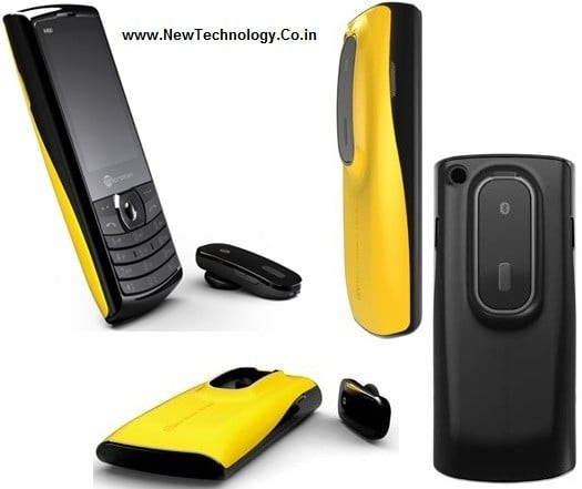 Micromax X450 Vangogh New Dual Sim Gsm Mobile With Dockable Bluetooth Headset Mobilescout Com