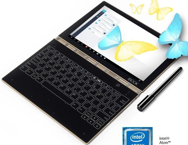 Lenovo Yoga Book 10 1 Fhd Convertible Android Tablet With Touchscreen Slate Keyboard Mobilescout Com