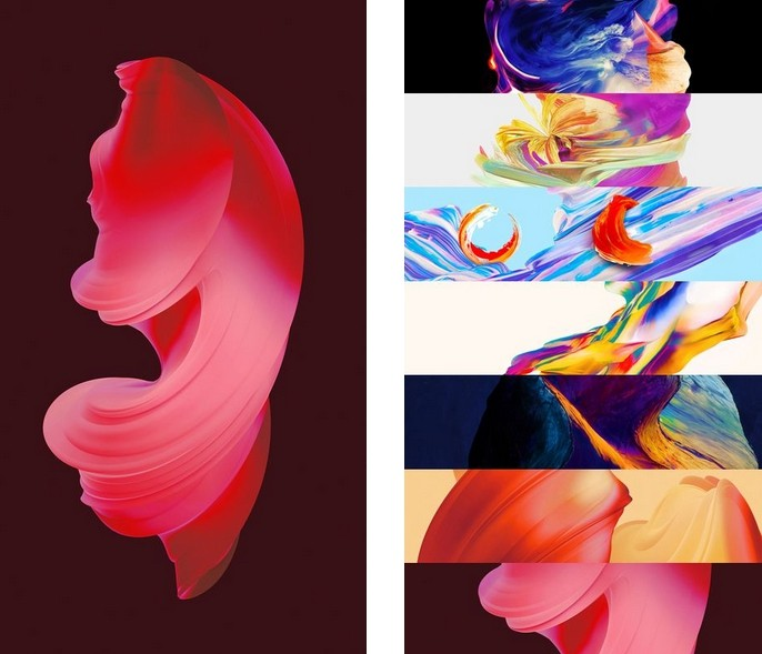 OnePlus 5's Abstract Wallpaper Artist Shares The
